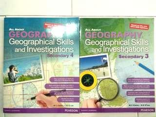 All about GEOGRAPHY Geographical Skills and Investigation Secondary 3 and 4