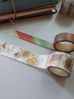 Washi tape destash