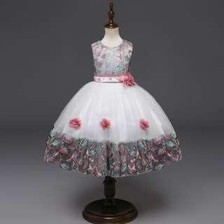 (Pre-order) Kids Princess Dress (2 Colours) #613 #TRU50