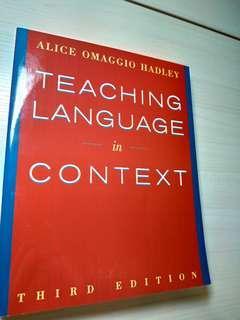 ❴英語教學❵Teaching Language in Context