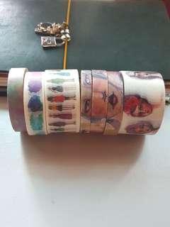 Washi tape destash Jane Davenport