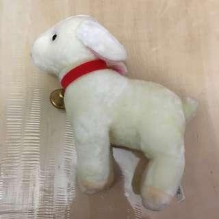 飄零燕 海迪 Heidi 的 羊 毛公仔 白羊 羊咩咩 アルプスの少女 ハイジ