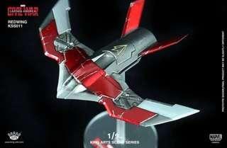 全新未開 靚盒 King Arts Redwing KSS011 1/9 Captain America Civil War