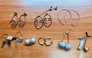 🚚 耳環們