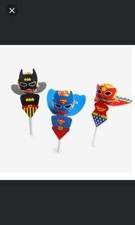 🚚 Superhero Lollipop holder