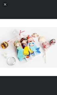 🚚 Disney princess lollipop holder