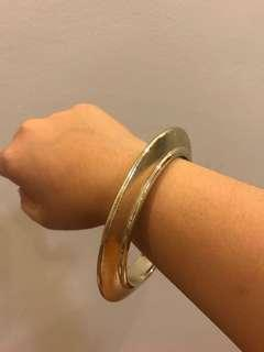 Gold Bangle Plastic