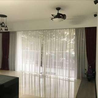 Waterfront Isle Living Room Day & Night Curtain