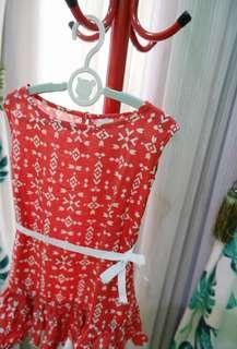 Baju Anak Sleeveless Dress by Bee and Bae