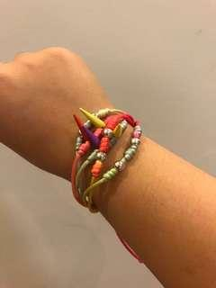 Neon colored Bracelet