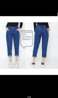 Boyfriend jeans karet