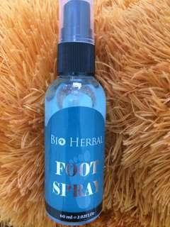 Foot Spray- Bio Herbal
