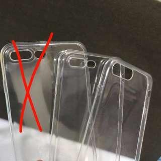 🚚 🌸 BNIP iPhone 7/8+ transparent casing