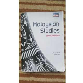 Malaysian Studies / Malaysian History and Culture