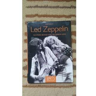 Led Zeppelin History/story Book - Official colored with pictures