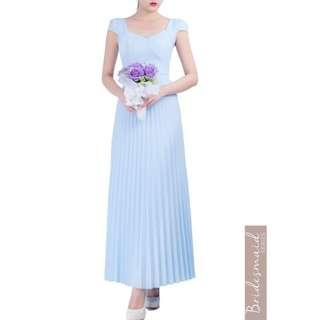 Doublewoot Maxi Dress blue
