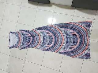 Warehouse long dress