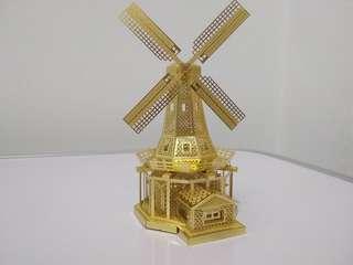 Fortune Windmill 3D Metal Model (Ready Assembled)