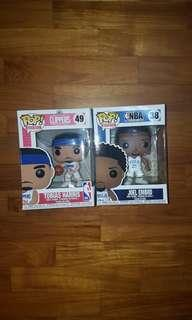Set of 2 Funko Pop NBA