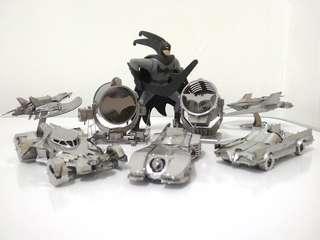 Batman Series 3D Metal Model Each (Ready Assembled)