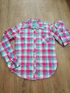 Chequered Long Sleeve Shirt