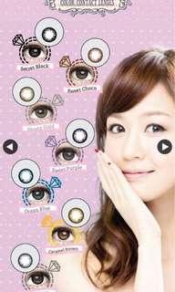 Monthly Color Contact Lenses