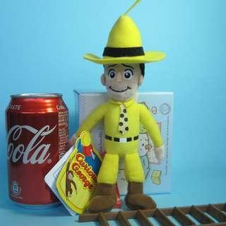 【Y243】Curious George 公仔吊飾 (約高 19cm)