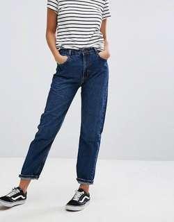 Berskha mom jeans high waist