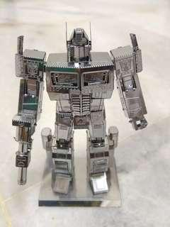 Optimus Prime/ Transformers Series 3D Metal Model