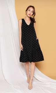 🚚 AWE Polka Dots Dress (S)