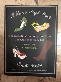 A Year in High Heels by Camilla Morton