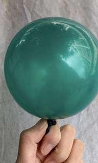 🚚 100 pieces pearl green balloons