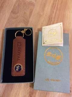 Japan Rail Hokkaido Leather Key Holder (1989)