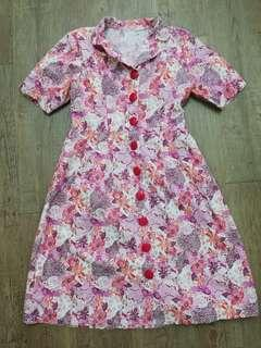 Tailor-Made Floral Dress