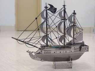 Pirates of the Carribean: Black Pearl 3D Metal Model