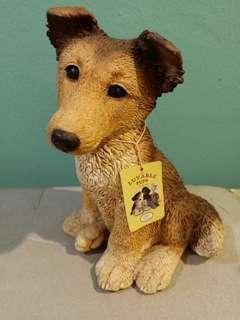 Ceramic terrier dog