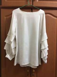 white blouse-free postage