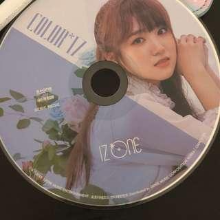 🚚 iz*one izone nako rose cd