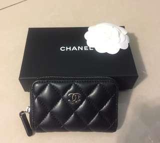 🚚 Chanel 小羊皮零錢包