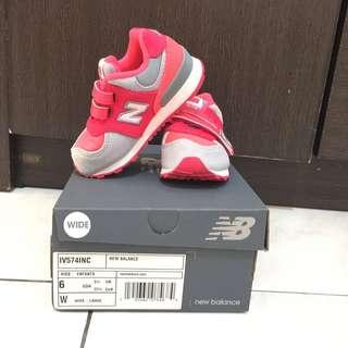 New balance 574 baby shoes