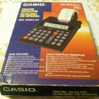 Casio Printing Calculator 10-Digit 打印計數機