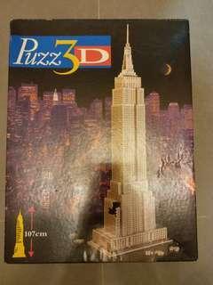 3D拼圖 帝國大廈 1米高
