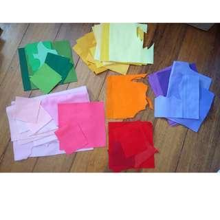 Assorted Felt Pieces/ Colors #MFEB20