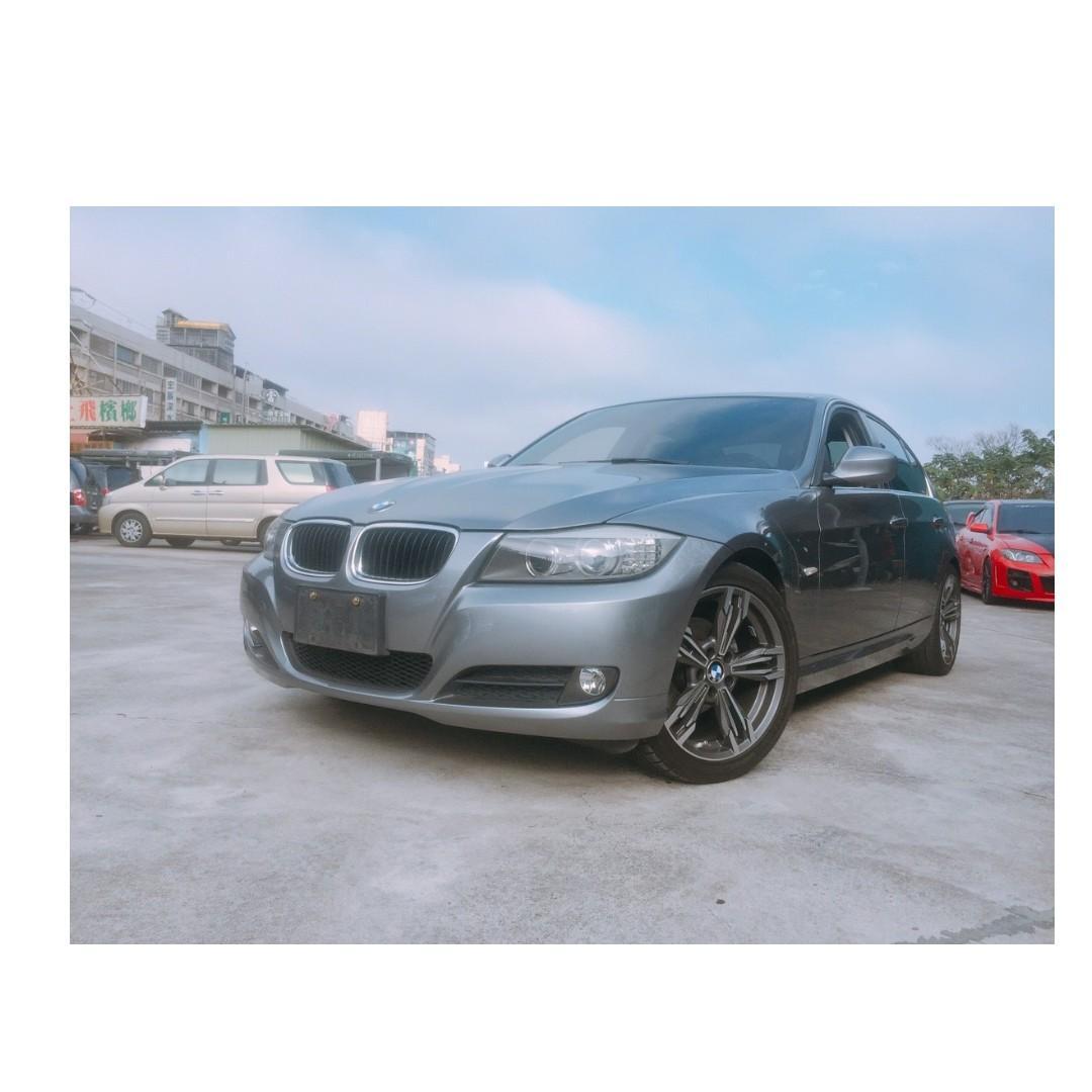 2011年 BMW   318D  灰  ✅0頭保人✅低利率✅低月付 款 ✅免FB搜尋:阿源 嚴選二手車/中古車買賣