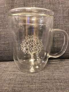 Crabtree and Evelyn glass mug