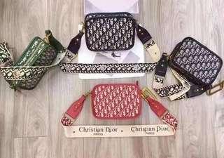 Sale 2,190 each! Dior Oblique Jacquard Sling Bag Authentic Quality
