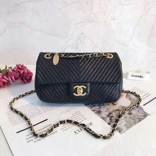 Chanel Chevron CF Flap