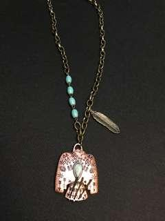 Bird necklace -