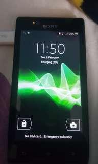 Handphone Sony Experia