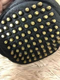 ALEXANDER WANG Diego Brass Studs Bucket Bag